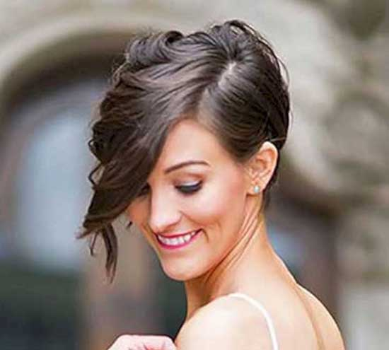 Bridal Hairstyles for Short Hair-21