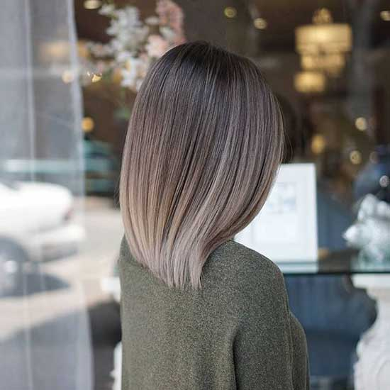 Mushroom Blonde Long Bob Cut-30