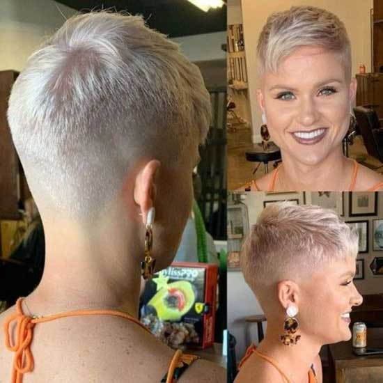 Super Short Female Haircuts-36