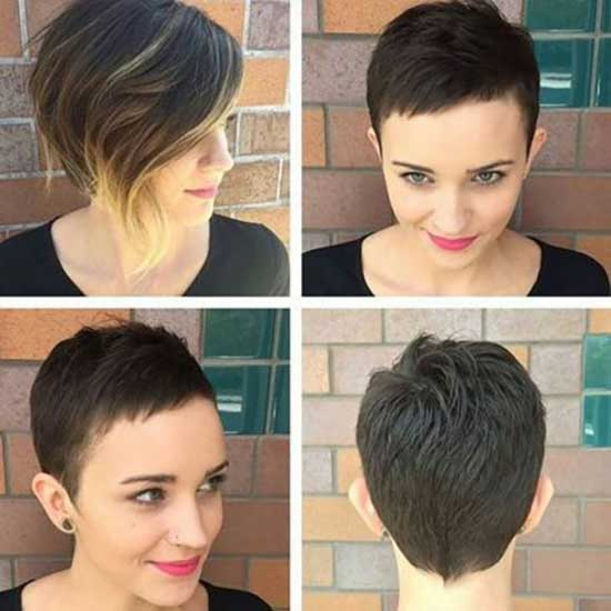 Super Short Cropped Female Haircuts-6
