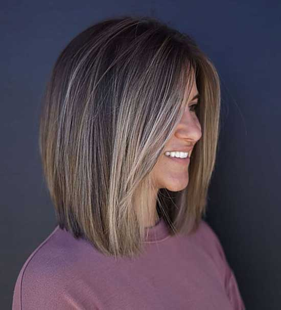 Lob Haircut