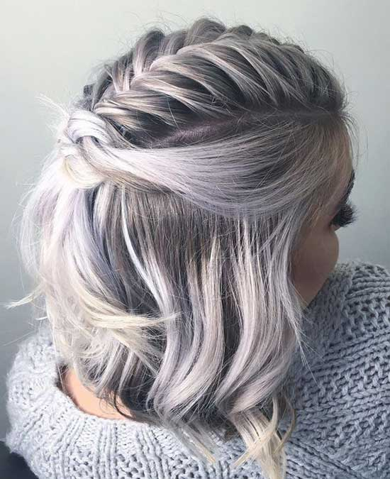 Cute Braids for Short Length Hair-14