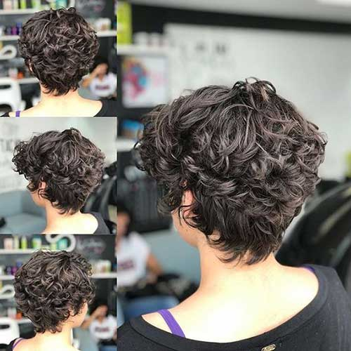 Pixie Haircuts for Curly Hair-27