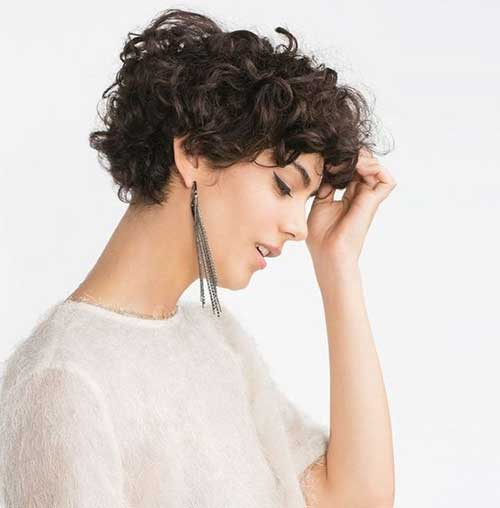 Long Pixie Haircuts for Curly Hair-9