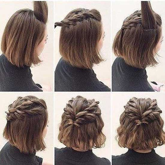 Cute Short Braids