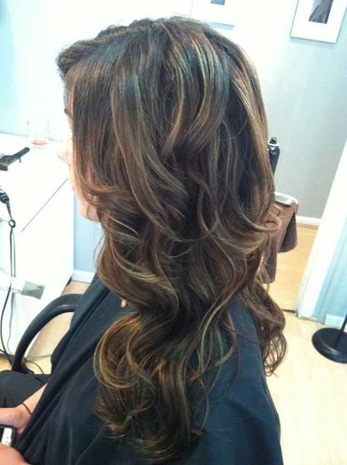 Dark Brown Hairstyles-19