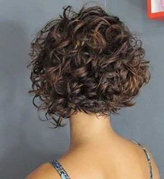 Textured Bob Hairstyles for Curly Hair-12