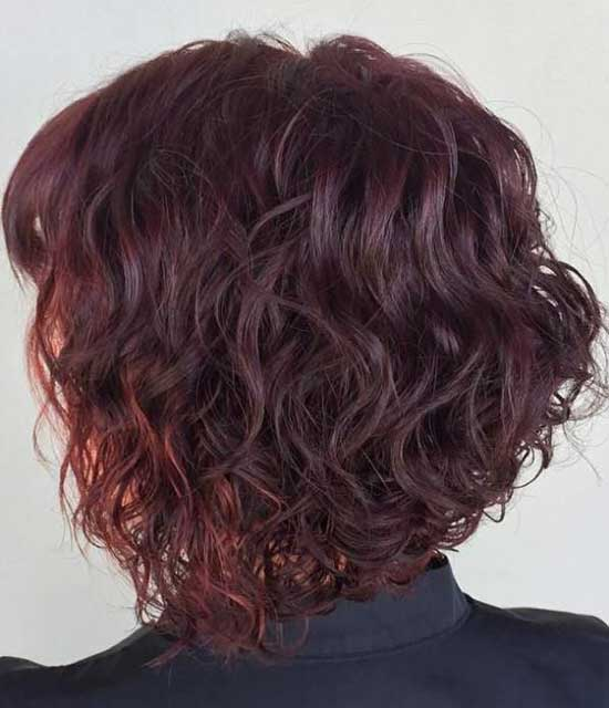 Bob Hairstyles for Soft Curly Hair-19