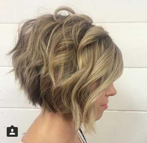 Short Wavy Hairstyles 2020