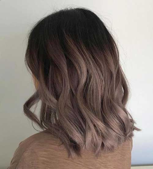 Cute Short Ash Hair Color Ideas-9